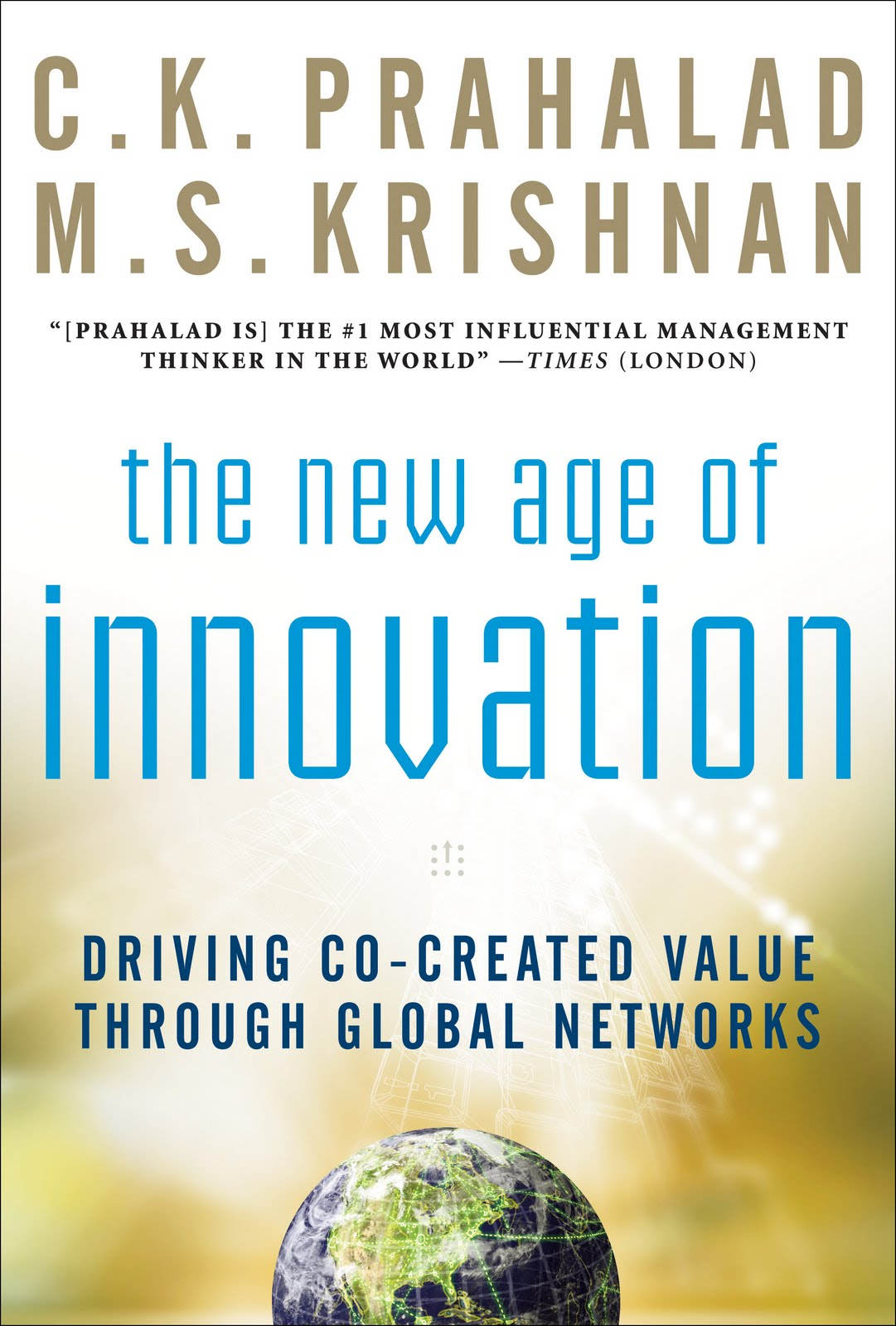 cover buku the new age of innovation